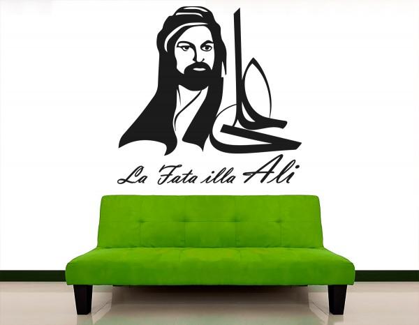 Hz Ali Zulfikar Islamische Wandtattoos La Fata illa Ali Zülfikar Schwert #5